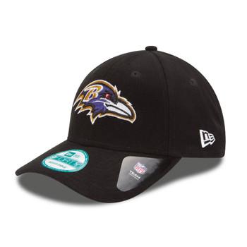 NEW ERA baltimore ravens 9forty adjustable american football league cap [black]
