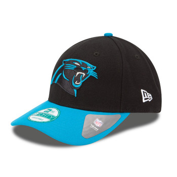 NEW ERA carolina panthers 9forty adjustable american football league cap [black]