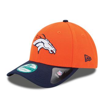 NEW ERA denver broncos 9forty adjustable american football league cap [orange]