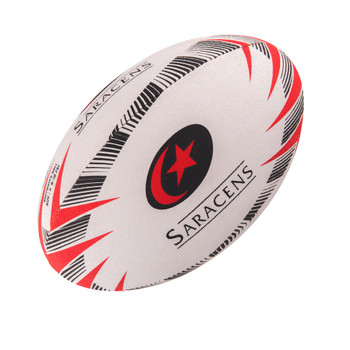 GILBERT saracens supporter rugby ball size 4