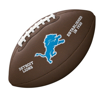 WILSON detroit lions NFL official senior composite american football