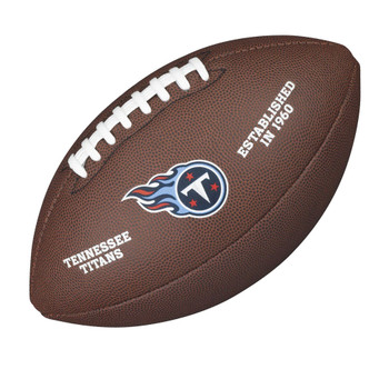WILSON tennessee titans NFL official senior composite american football