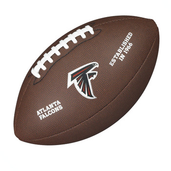 WILSON atlanta falcons NFL official senior composite american football