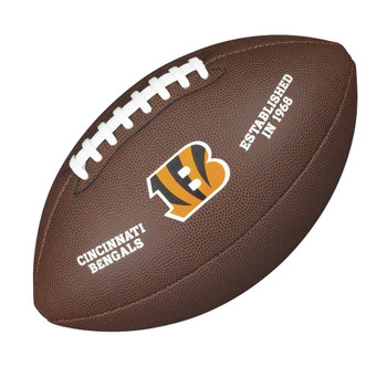 WILSON cincinnati bengals NFL official senior composite american football