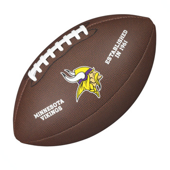 WILSON minnesota vikings NFL official senior composite american football