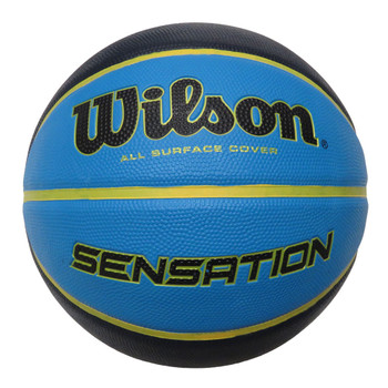 WILSON sensation basketball size 7 [blue/black]