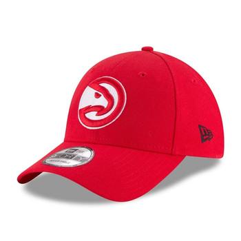 NEW ERA atlanta hawks 9forty adjustable NBA basketball league cap [red]