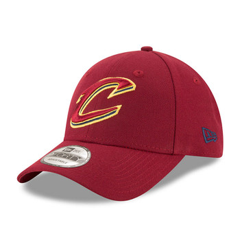 NEW ERA cleveland cavaliers 9forty adjustable NBA basketball league cap [maroon]