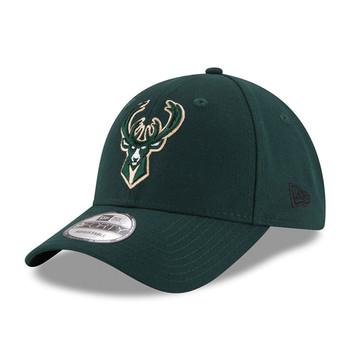 NEW ERA milwaukee bucks 9forty adjustable NBA basketball league cap [green]