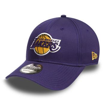 NEW ERA los angeles lakers 9forty adjustable NBA basketball league cap [purple]