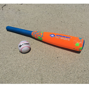 SCHILDKROT baseball fun set [orange/blue]