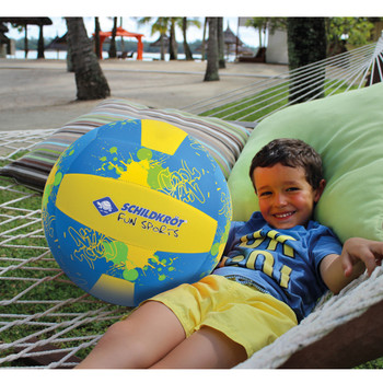 SCHILDKROT neoprene 35cm beachball XL [blue/yellow]
