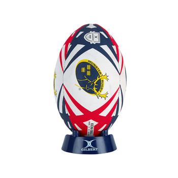 GILBERT Munster rugby starter pack (Size 4 ball, pump, kick tee)