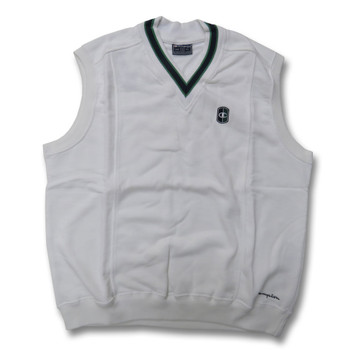CHAMPION sleeveless cricket sweater [white]