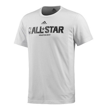 ADIDAS NBA all-star basketball men's t-shirt [white]