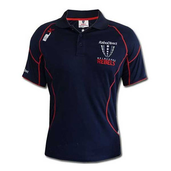 BLK melbourne rebels training polo