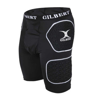 GILBERT padded rugby protective shorts