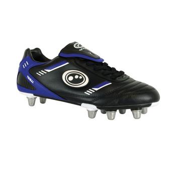 OPTIMUM Tribal Rugby Boots Senior [black/blue]
