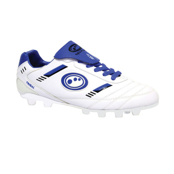 OPTIMUM Tribal moulded Rugby Boots Senior [white/blue]