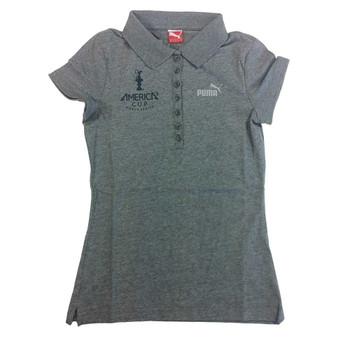PUMA americas cup ladies polo shirt [grey]