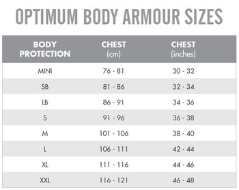 OPTIMUM origin rugby body protection top Snr [bokka]