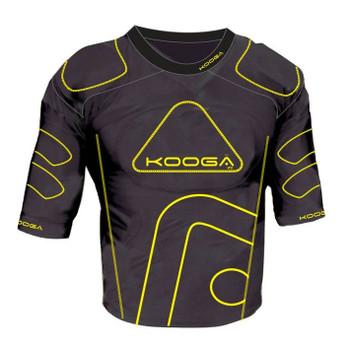 KOOGA IPS Junior Rugby Shoulder Pads [black/yellow]