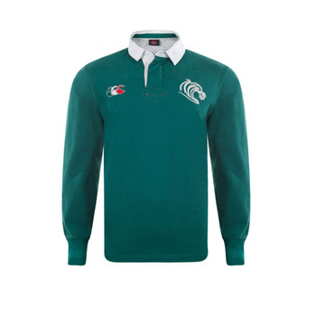 CCC leicester tigers vintage ugly long sleeve rugby shirt [green]