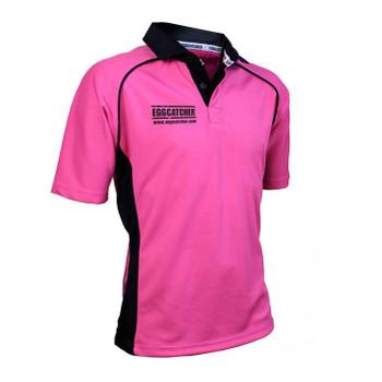 EGGCATCHER canberra match shirt [pink/black]