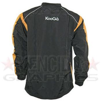 KOOGA vortex warm up top [black/gold]