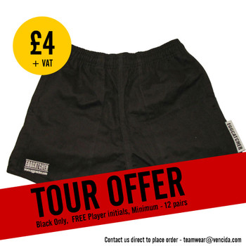 EGGCATCHER parc rugby shorts senior [black]