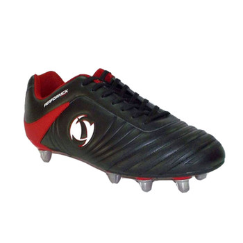 Samurai Katana Rugby Boots [black/red]