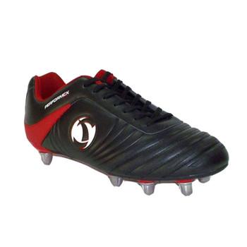 Samurai Katana Mid HT Rugby Boots Junior [black/red]