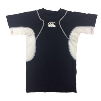CCC hot weather kids short sleeve t-shirt baselayer [black]