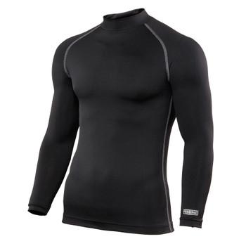 RHINO baselayer long sleeve junior [BLACK]