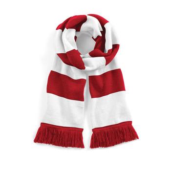 BEECHFIELD Varsity Scarf red/white