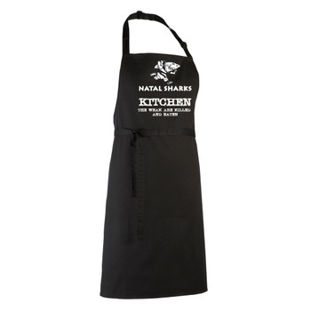 NATAL SHARKS rugby chefs kitchen / barbeque apron
