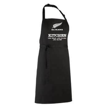 ALL BLACKS rugby chefs kitchen / barbeque apron