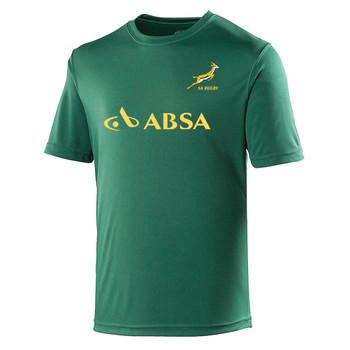 SOUTH AFRICA rugby performance t-shirt [green]