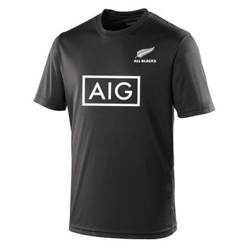 ALL BLACKS rugby performance t-shirt [black]