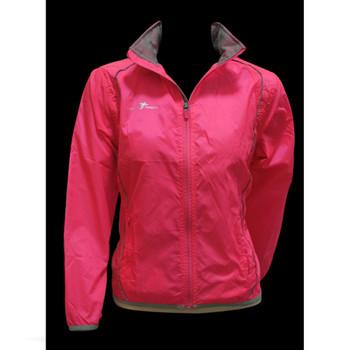 PRECISION ladies running rain jacket [pink]