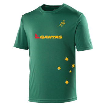 AUSTRALIA rugby performance t-shirt [green]
