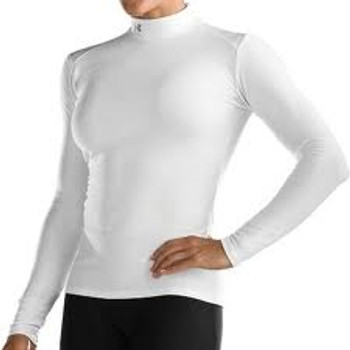 UNDER ARMOUR women's sub zero coldgear mock [white]