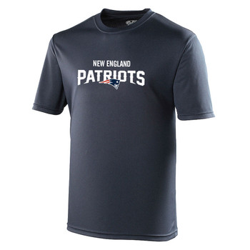 NEW ENGLAND PATRIOTS american football performance t-shirt [navy]