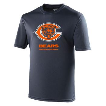 CHICAGO BEARS american football performance t-shirt [navy]