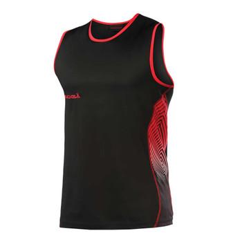 KOOGA rugby training muscle vest [black/red]