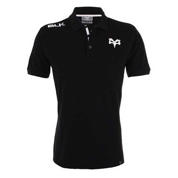 BLK ospreys rugby classic polo [black]