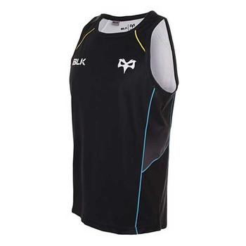 BLK ospreys rugby training singlet [black]
