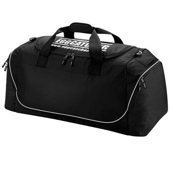EGGCATCHER rugby team kit bag [black]