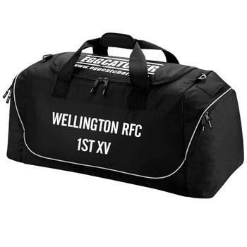 EGGCATCHER rugby team kit bag [black]