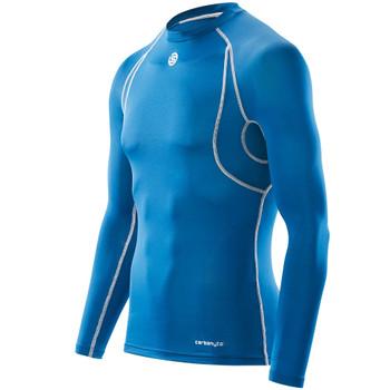 SKINS Men's Carbonyte Long Sleeve Baselayer Top [Royal Blue]
